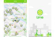 Zainstaluj aplikację Lime na swoim telefonie i już dziś korzystaj z elektrycznej hulajnogi!